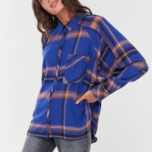 UO Flannel Buttoned Down Shirt
